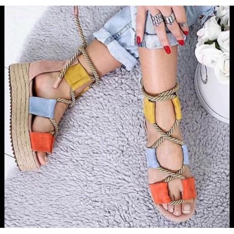 c847bbb91e Šarene sandale - Novecento Online Shop
