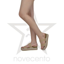 Sandale sa šarenom platformom